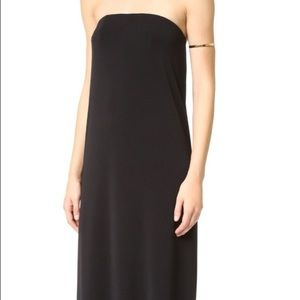 Rachel Zoe Adette Strapless Cowl Dress